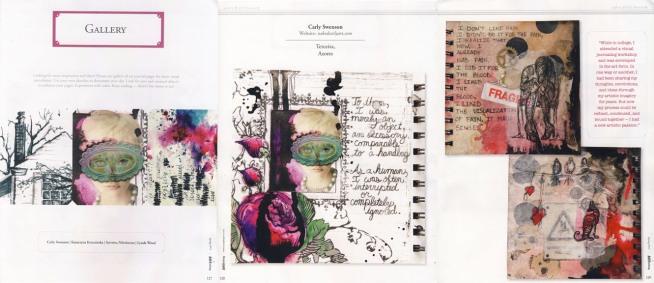 Art Journaling, spring 2012 issue