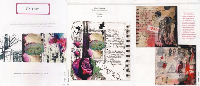 Art Journaling, spring 2012 issue
