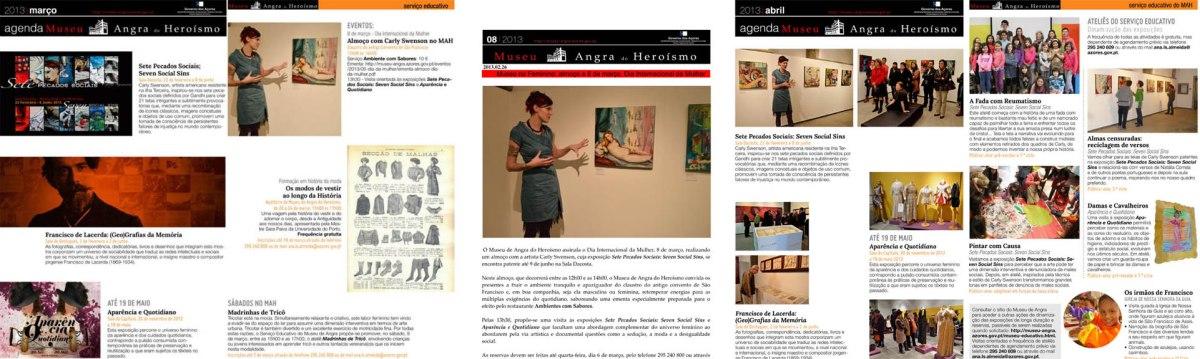 press: agenda museu