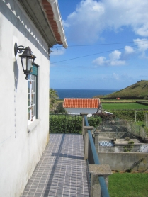 Ocean view, photo taken from my back porch, May 2011