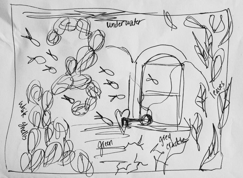 Terceira I, initial sketch