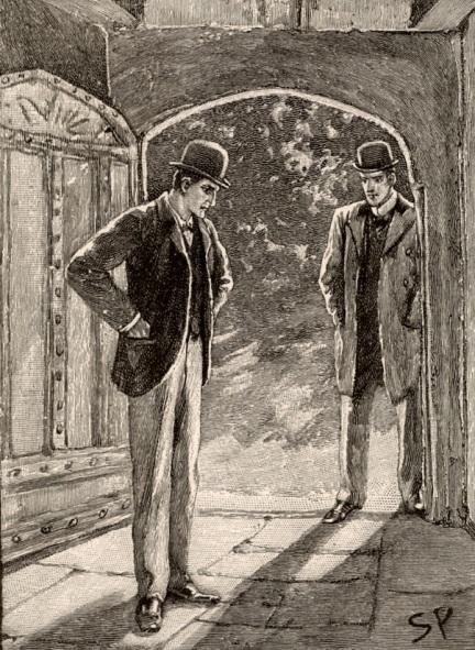 two men, stock image: Liquid Library