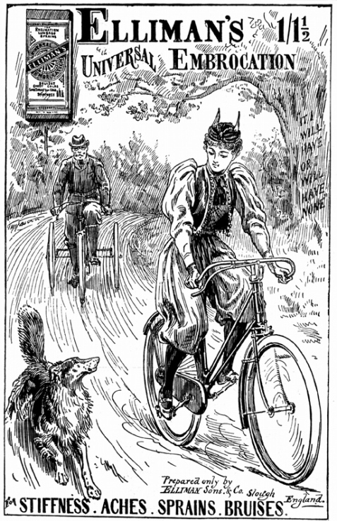 woman on bicycle, stock image: Liquid Library