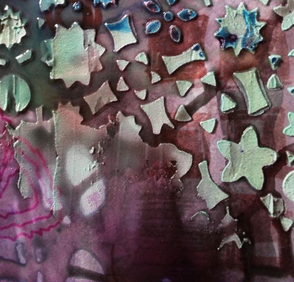 texture play: violet, September 2011 (detail 1)