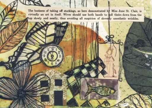 Inside/Outside IV, art postcard, 2011