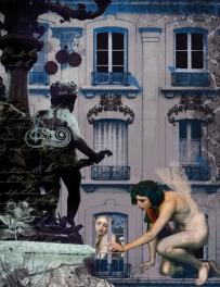 Paris I, digital photo manipulation, 2011