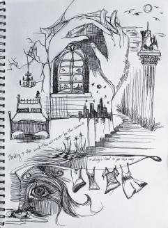 lyric sketch II, october 2011