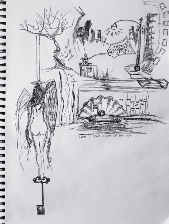 lyric sketch III, october 2011