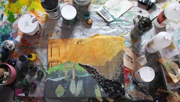 Image 2: working in studio