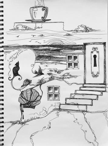lyric sketch VI, december 2011