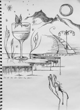 lyric sketch IV, december 2011