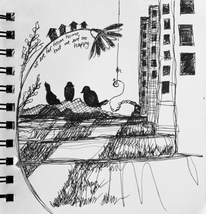 no. 20: lyric drawing 2