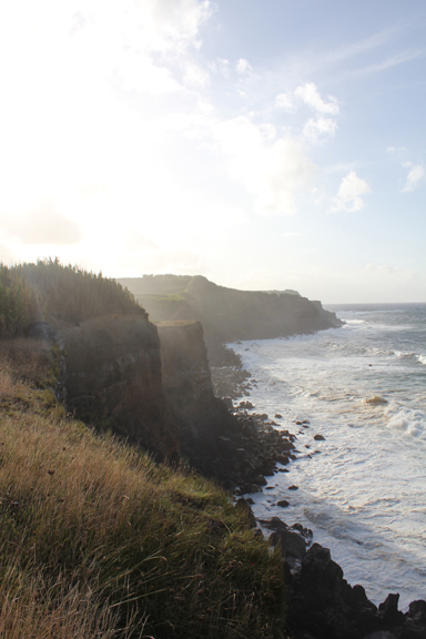 Atlantic ocean at dusk, 2011
