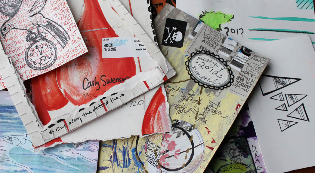 Welcoming 2012 Postcard Exchange