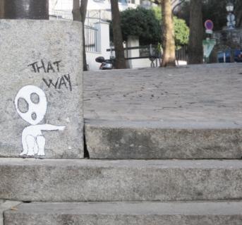 Montmartre street art II, Paris, 2011