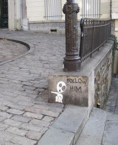 Montmartre street art I, Paris, 2011