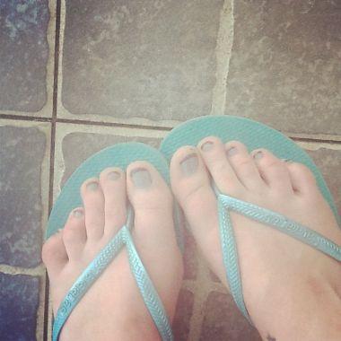 beach feet, 2012