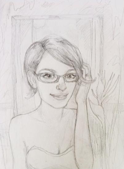 Initial concept sketch, Sara Syverhus, 2012