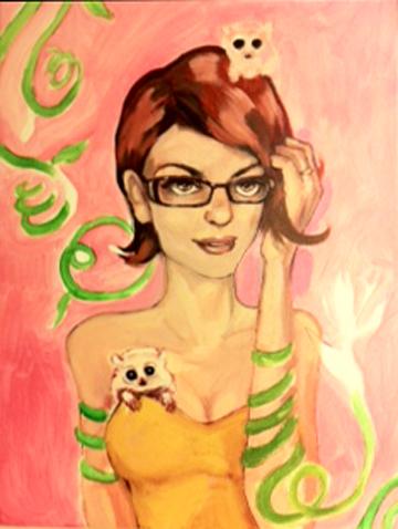 In-progress image I, Sara Syverhus, 2012