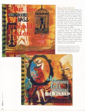 Somerset Art Journaling, page 84