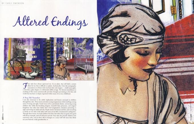Somerset Art Journaling, pages 80 & 81