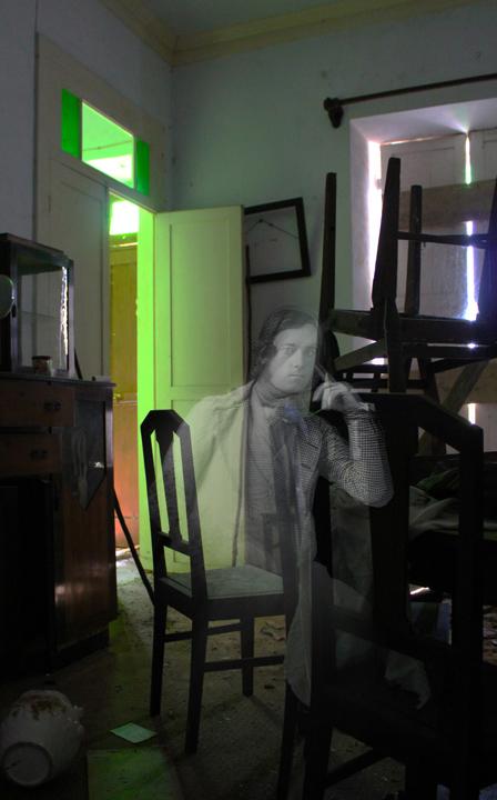 His Memories Remain, digital photo-manipulations, 2011