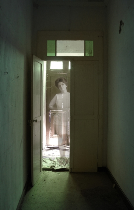 She Knew, digital photo-manipulations, 2011