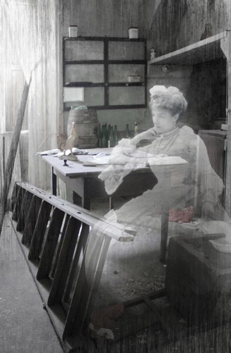 The Waiting... digital photo-manipulation, 2011