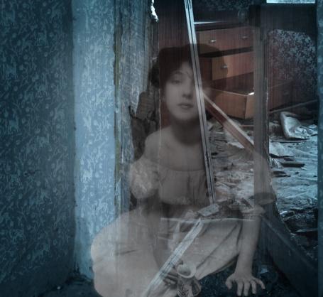 Longingly... digital photo-manipulation, 2011