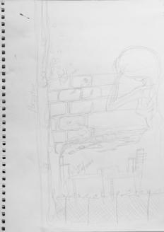 Initial concept sketch