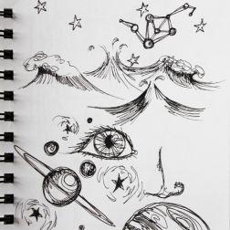 sketch no. 293-concept sketch for chaos