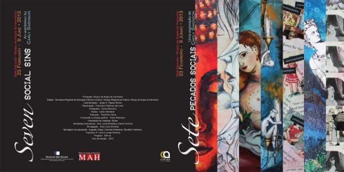 Exhibition informational bi-fold (back and front cover) 2013
