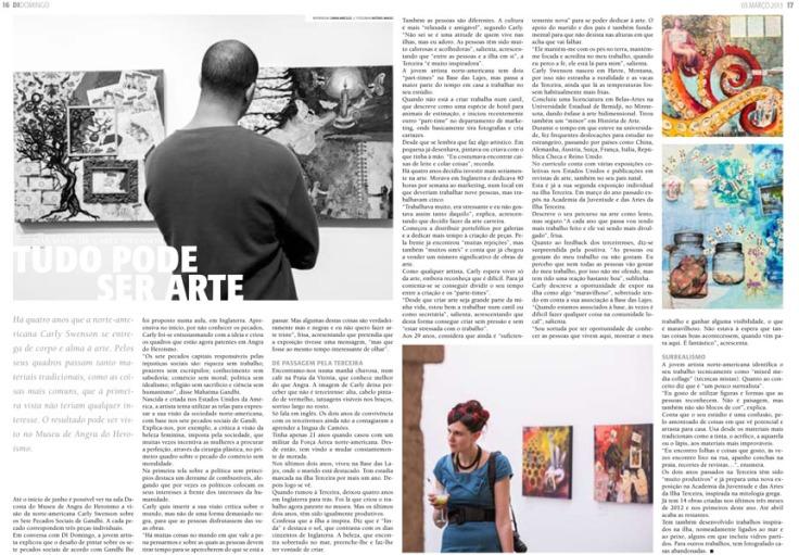 Di Domingo, 03 Mar 2013, pages 16 & 17