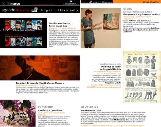 Mar, 2013: MAH Event Newsletter