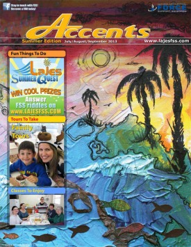 FSS magazine, Accents, summer issue 2013