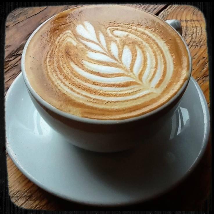 My beautiful coffee.