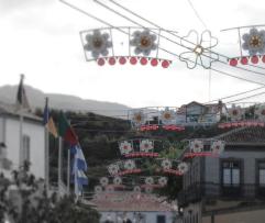 Main street in Vila Nova, 2013