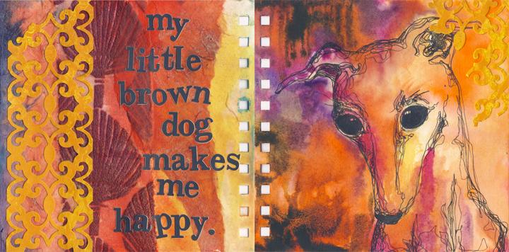 no. 19: Little brown dog