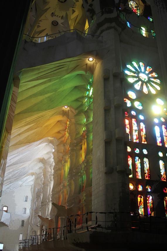 Sagrada Familia (Interior) II, Barcelona 2013