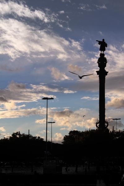Columbus sculpture, Barcelona 2013