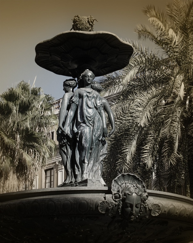 Fountain, Barcelona 2013