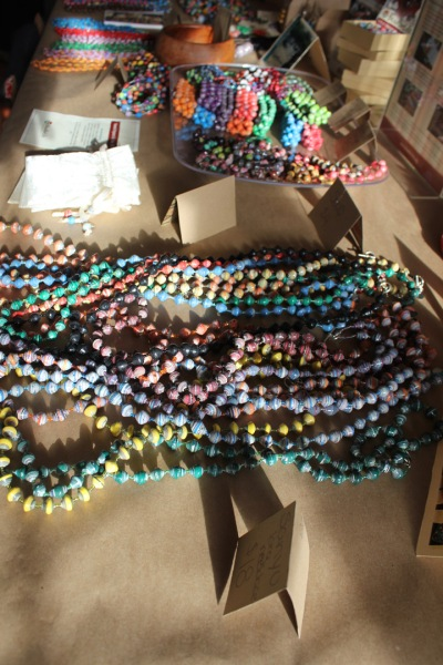 Beads for Life table--