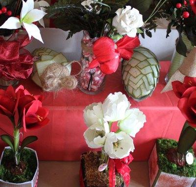 Handmade paper flowers--