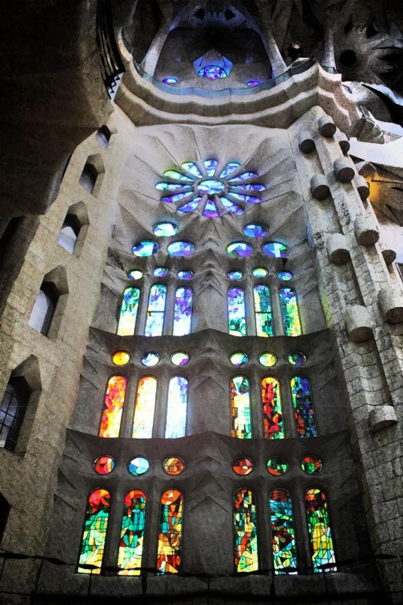 Sagrada Familia (Interior) I, Barcelona 2013