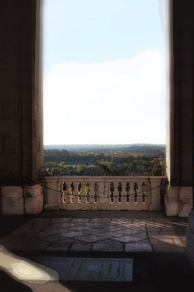 A view from the Royal Palace, Madrid 2013
