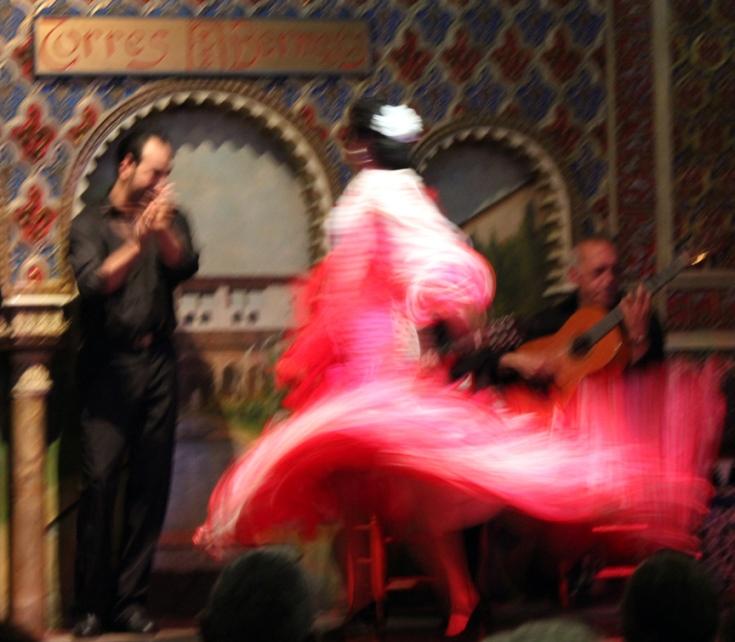 Flamenco dancer, Torres Bermejas