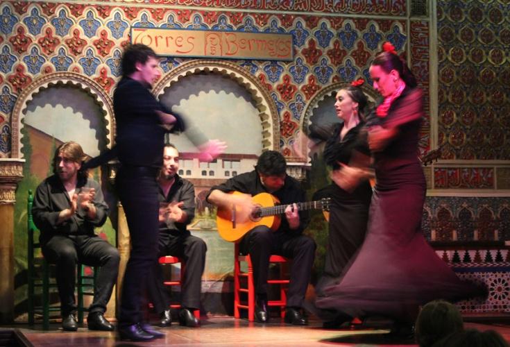Flamenco Dancers, Torres Bermejas