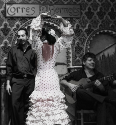 Flamenco Dancer and Musicians I, 2013