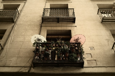 Madrid Balcony, 2013