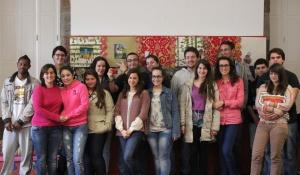The teenage art students